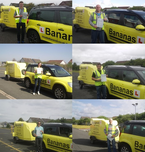 B+E car and trailer test Scotland