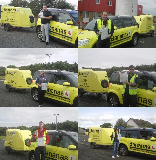 car and trailer training edinburgh